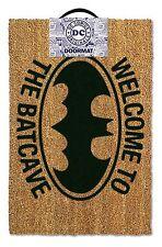 Batman Officiel Bienvenue À La Batcave Paillasson Fantaisie Film TV Mancave
