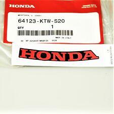 Honda SJ 50 100 bali manillar revestimiento fairing Handlebar cover tapa manillar rojo