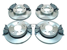 BMW E46 320d TOURING ESTATE 2000-2005 FRONT & REAR BRAKE DISCS AND MINTEX PADS