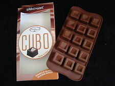 Silikomart - Cubo Chocolate/Ice/Butter/Soap/Wax Mould. Free 1st class post
