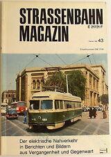 Tranvía Revista Folleto 43 Febrero 1982, S. 1-80 Franckh'sche Editorial Acción √