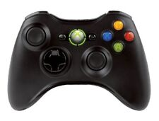 Official Microsoft Xbox 360 Glossy Black Wireless Controller Genuine New-Other
