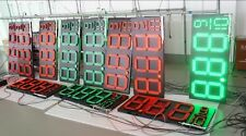 """12"""" LED Gas Price Sign with complete aluminum Cabinet"""