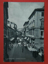 CATANZARO Tram corso Mazzini vecchia cartolina