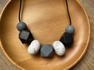 SALE silicone Necklace Was Teething Gift For Mum Aus Jewellery Sensory