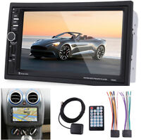 """7"""" Touch Screen 2Din Car Audio Stereo HD MP5 Player Bluetooth w/ Australia Map"""