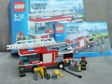 Lego city 60002 Fire engine with box & instruction/LEGO playset minifigures jobl
