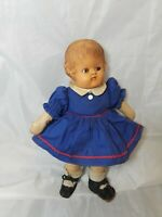 """Vintage Magic Skin Doll  11"""" Tall  Unmarked"""