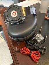Beats by Dr. Dre Studio Headphones Black And Red Monster