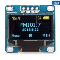 """0.96"""" I2C IIC Serial 128X64 128*64 Blue&Yellow OLED LCD LED Display Module New"""