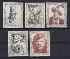 Echte Briefmarken aus den Niederlanden & Kolonien mit Kunst-Motiv