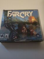 Far Cry 1 Ubisoft PC Game CD ROM Set (2004, 5 Disc) -Free Ship