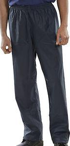 Super B-Dri BDRI SBDT Waterproof Rain Overtrousers Trousers Navy Sizes S to XXXL