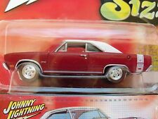 JOHNNY LIGHTNING - 60S SIZZLE - 1969 DODGE DART GTS (RED LINES) - DIECAST