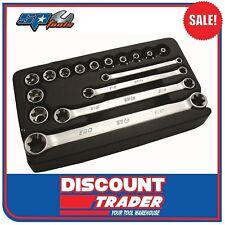 "SP Tools 16 Piece E-TORX 3/8"" Drive Socket & Spanner Set - SP20210"