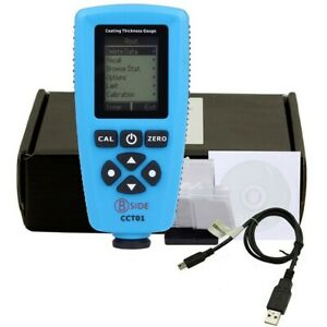 CCT01 High Accuracy um Digital Coating Thickness Gauge Automotive Paint Tester