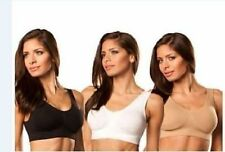 3 pcs/set Genie Bra With Removable Pads  MANY COLORS, ALL SIZE FREE SHIPPING NEW