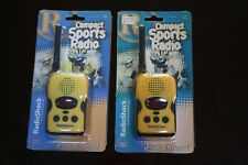 RADIOSHACK WEATHER RESISTANT SPORTS RADIOS
