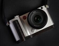 Handmade Blackwood Wooden Hand Grip L Base Plate Holder f Leica T TL TL2 Camera