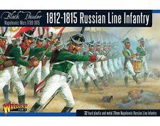 1812-1815 infantería de línea ruso-Warlord Games-Polvo Negro-enviado 1ST Clase