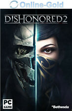 Dishonored 2 II Das Vermächtnis der Maske Key - Steam Download Code PC NEU DE EU