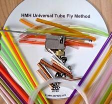 HMH UNIVERSAL TUBE FLY METHOD KIT. FLY TYING TOOL, DVD, TUBES, CONES. FLIES. NEW