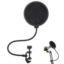 Recording Studio Microphone Pop Filter Mic Wind Screen Mask Shield Double 2Layer