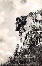 VTG RPPC POSTCARD OLD MAN OF THE MOUNTAIN FRANCONIA NEW HAMPSHIRE NH PHOTO / B15