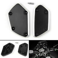 Brake Clutch Fluid Reservoir Cover Cap For BMW R1200GS LC ADV R NINE T Black BU