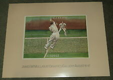 CLASSIC TENNIS MATCH BUDGE vs. CRAMM: JAMES McMULLAN AT GIRAFFICS GALLERY POSTER