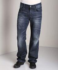 """G-Star Raw Da Uomo Nuovo Radar low loose jeans 28 """"x 32"""" NUOVO CON ETICHETTA MEMPHIS Denim dk aged"""