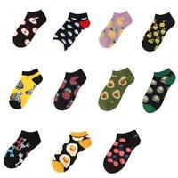 Avocado Plant Fruit Food Socks Funny Cotton Socks Women Men Winter Socks 1 Sell