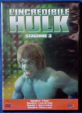 L'INCREDIBILE HULK - STAGIONE 3 - EPISODI 5-8 - DVD N.02632