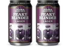 More details for block buster1900s history on two empty beer cans the peaky blinders - own it now