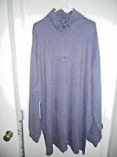 Polo Ralph Lauren Lavender Long Sleeve Zip Neck Sweatshirt Size 4XLT New w/Tags