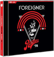 FOREIGNER (CD / DVD) LIVE AT THE RAINBOW '78 ~ LOU GRAMM ~ 70's *NEW*