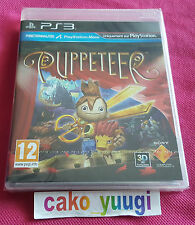 PUPPETEER SONY PS3 NEUF SOUS BLISTER 100% FRANCAIS