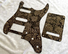 Custom Gold Paisley Bakelite HSS Pickguard fits Fender® Stratocaster® Strat® set