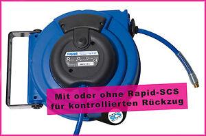 Automatischer Schlauchaufroller - PROFI-Qualität - Druckluft Schlauch Aufroller