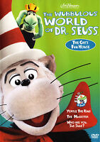 The Wubbulous World of Dr. Seuss - The Cat's Fun House (DVD, 2004) family, kids