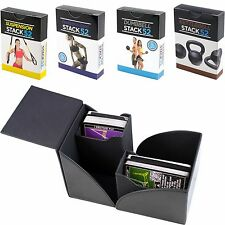 Stack 52 Gift Box Set: Dumbbell, Kettlebell, Resistance Band, and TRX Card Decks