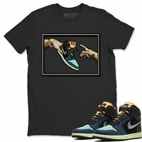AJ 1 Retro Bio Hack Sneaker Matching Tees and Outfit Adams Creation T Shirt
