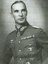 WW2 INFANTERIE GENERAL RUDOLF VON BUENAU KNIGHTS CROSS OAK LVS.WAR IRON CROSS DS