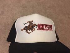 Vintage Winchester Rifles Cowboy On Horseback Hat