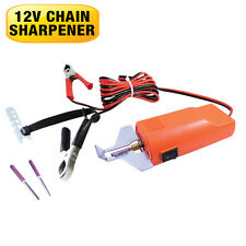 LASER Chainsaw Chain Sharpener Electric 12 Volt Hand Held Size