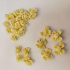 50 yellow flowers applique/embellishment/dress/scrapbook/DIY/craft/sewing/