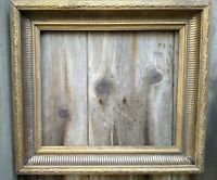 VICTORIAN wooden EBONISED Gilt Picture Frame. Good condition.