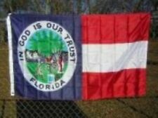 Florida Republic In God is Our Trust Polyester 3x5 Foot Flag Civil War Banner