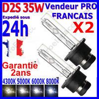 2 AMPOULES D2S 35W 12V LAMPE RECHANGE REMPLACEMENT FEU XENON KIT HID 6000K