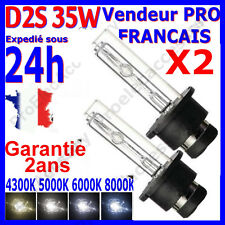 2 AMPOULE AU XENON D2S 35W HID PAIRE LAMPE FEU PHARE EN 4300K 5000K 6000K 8000K
